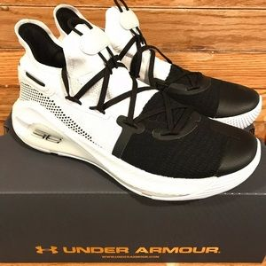 NEW UA Curry 6 'Working on Excellence' White/Black